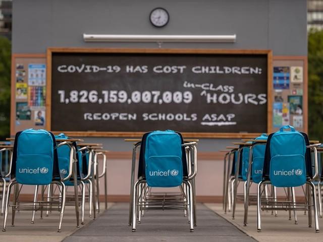 UNICEF: Kinder verpassen weltweit 1,8 Billionen Stunden Präsenzunterricht