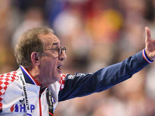 Niederlage gegen Deutschland: Kroatischer Handball-Nationaltrainer fühlt sich betrogen