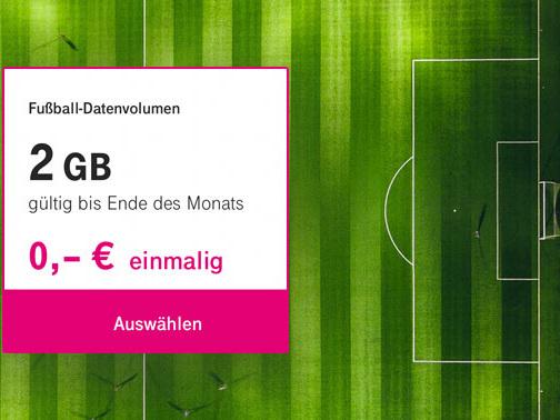 2 GB Extra-Datenvolumen: Telekom-Kunden dürfen zugreifen