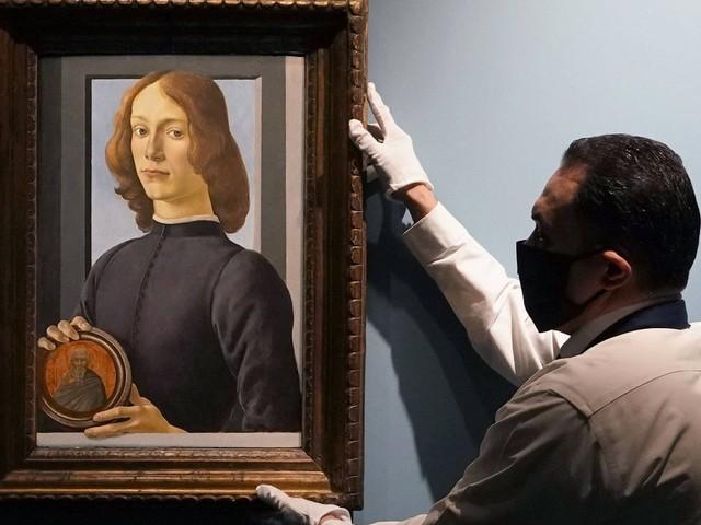 Auktion in New York: Botticellis Jüngling hält, was er verspricht