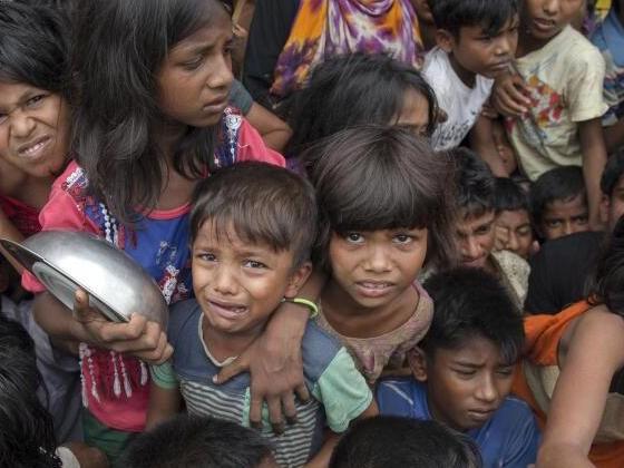 UN bitten um Spenden für Rohingya-Flüchtlinge aus Myanmar
