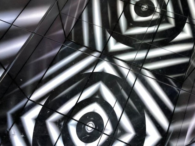 Peter Kogler in Graz: Eine Reise in das Hirn des Künstlers