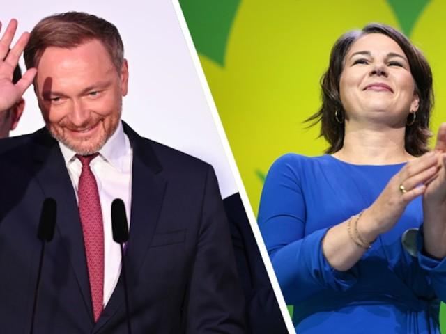 Analyse zum Koalitionspoker - Im Machtpoker müssen Grüne und FDP jetzt in 7 Punkten eine gemeinsame Linie finden