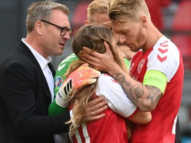 Dänemark-Kapitän Kjaer wurde im EM-Drama um Eriksen zum Helden