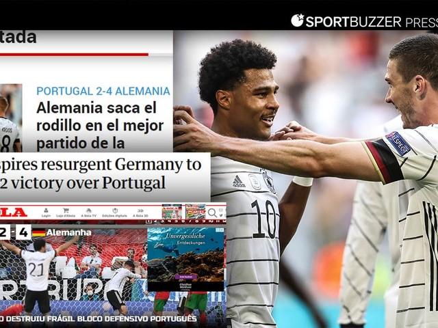 """Internationale Pressestimmen zum DFB-Sieg: """"Das echte Deutschland ist zurück"""""""