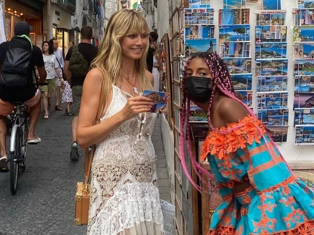 Heidi Klum: Heidi Klum zeigt Tochter Lou – und sie ist so groß!