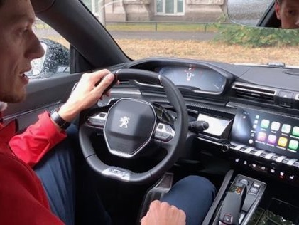 Connectivity-Check im Peugeot 508 So gut ist das i-Cockpit im neuen 508