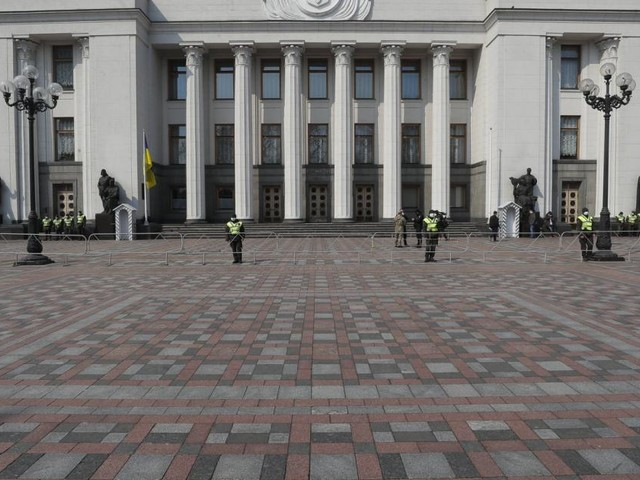 Schlägerei im ukrainischen Parlament nach umstrittenen Äußerungen