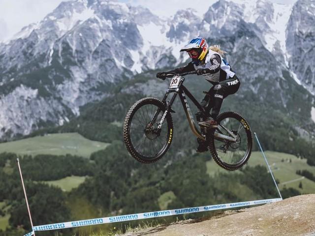 Mountainbike: Valentina Höll gewann sensationell Downhill-Weltcup