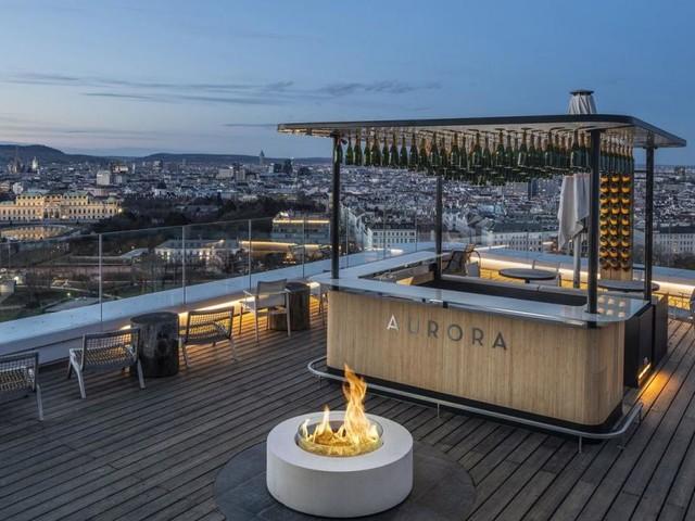 Die neue Champagner-Bar über den Dächern von Wien