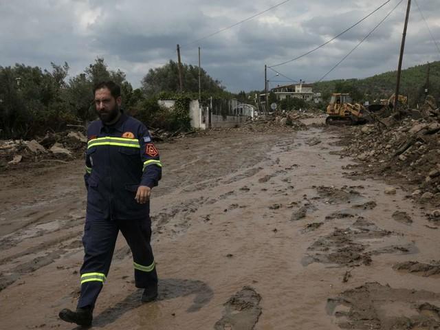 Unwetter in Griechenland: Mindestens fünf Tote nach schweren Regenfällen