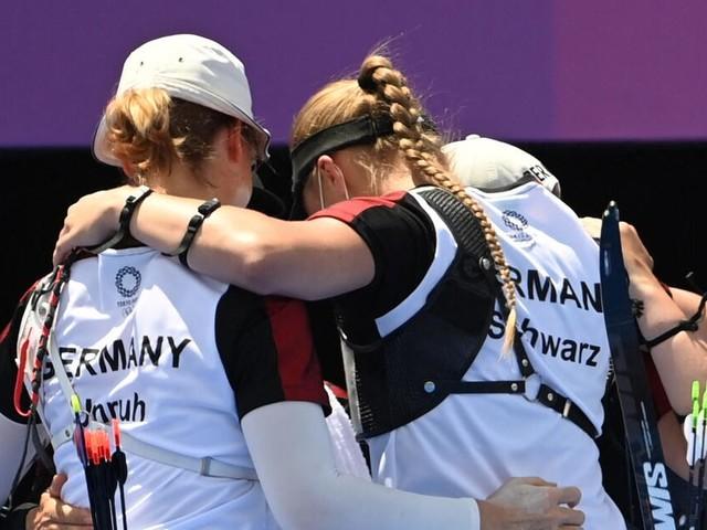 Da ist die nächste Medaille für das deutsche Team: alle Entscheidungen live