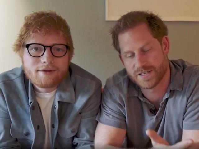 """""""Rothaarige vereinigt euch"""": Prinz Harry und Ed Sheeran kämpfen vereint"""