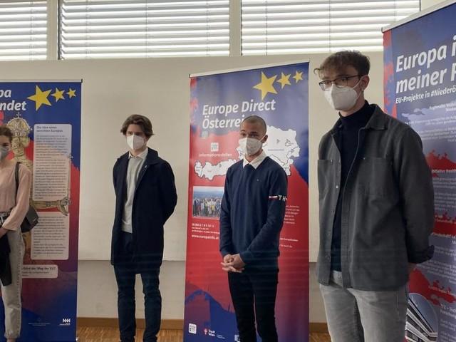 Statt Brüssel-Reise: HAK St. Pölten holt Europa ins Klassenzimmer