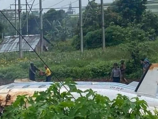 Flugzeugunglück: Myanmar: Mehrere Tote bei Absturz von Militärflugzeug