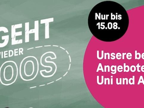 Telekom Back to School: Rabatt auf iPhone 12, zusätzliches Datenvolumen bei Prepaid-Tarifen und mehr
