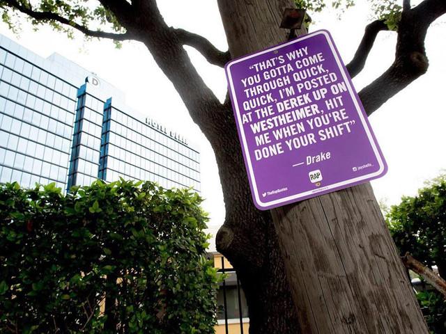 Rap Quotes – Jay Shells und seine Rap Strassenschilder in Houston