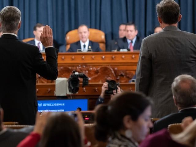 Trump unter Druck: Impeachment-Hearings sind gestartet