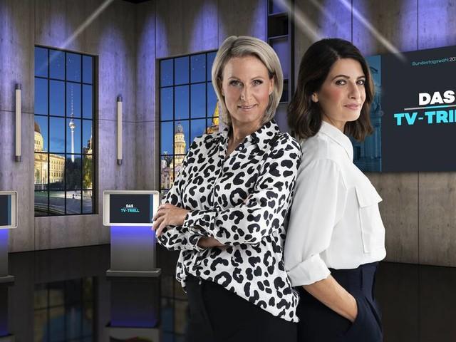 Newsblog zur Bundestagswahl: Was Sie zum TV-Triell heute Abend wissen müssen