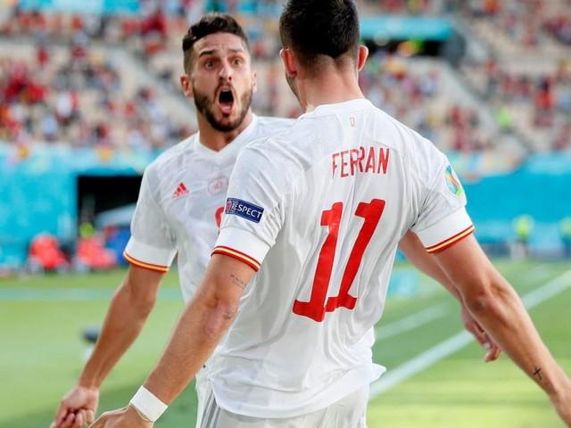Spanien nach 5:0-Torgala im EM-Achtelfinale, Polen bleibt sieglos