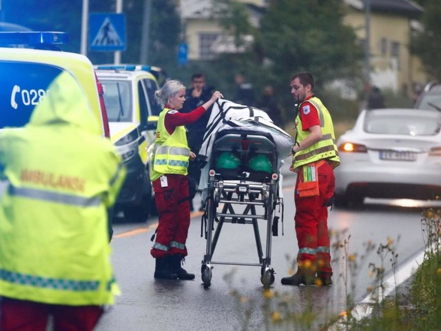 """Norwegen: """"Weißer Mann"""" stürmt mit Gewehr Moschee"""