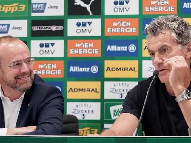 Zehnjahresvertrag mit Tojner: Rapid baut und bildet im Prater aus