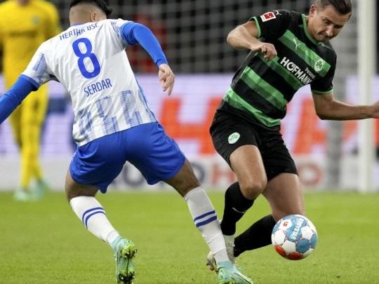 Fußball-Bundesliga - Hertha BSC schlägt Greuther Fürth