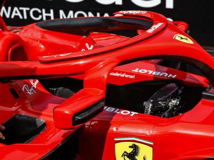 Formel 1: Bilder vom Monaco GP Trotz Verbot: Ferrari wieder mit Halo-Spiegel
