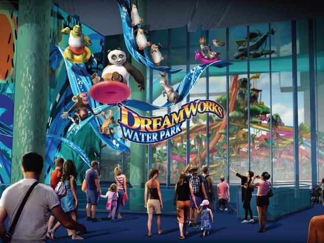 ProSlide liefert Rekord-Wasserrutschen an DreamWorks-Wasserpark zur Eröffnung 2019 im American Dream-Komplex