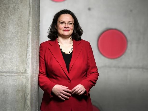 """SPD-Fraktionschefin: Andrea Nahles: """"Wir haben Herz und Bauch vergessen"""""""