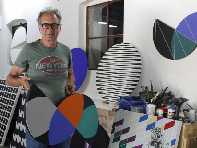 Geometrische Sichtweisen prägen Christian Eders Kunst
