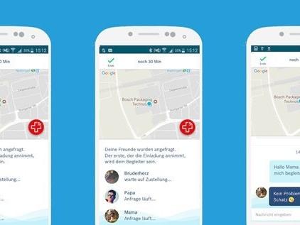 Bosch Vivatar: App ist digitaler Schutzengel für unterwegs