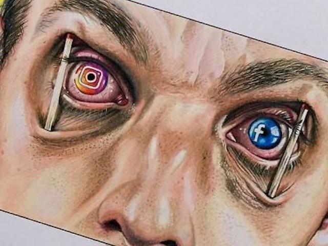 Illustrator Sam Bailey nimmt unsere moderne Gesellschaft kritisch auf's Korn