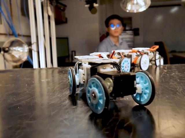 Forscher entwickeln Roboterschlange für Rettungseinsätze - Natur als Vorbild