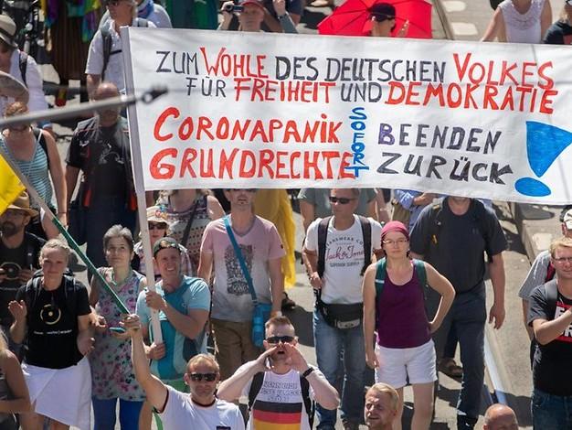 Nach Anti-Corona-Protesten in Berlin: Versammlungsrecht auf dem Prüfstand