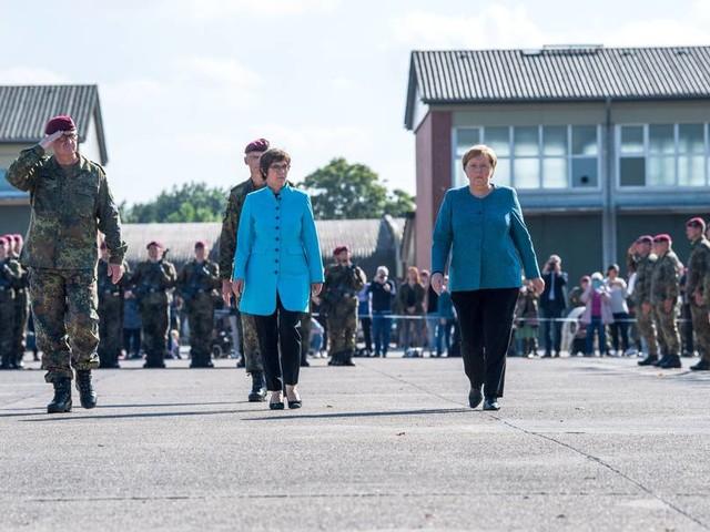 """Kramp-Karrenbauer spricht vor Bundeswehrsoldaten: """"Einsatz in Afghanistan war richtig"""""""