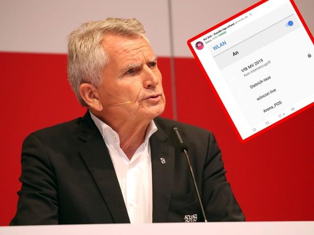 WLAN gestört: VfB bricht Mitgliederversammlung ab – und die Fans lachen sich kaputt
