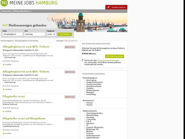 Alltagsbegleiter Hamburg gesucht | MeineJobs Hamburg