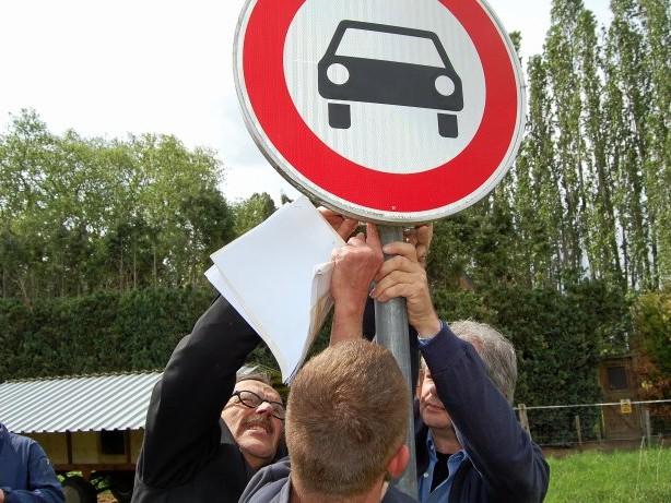 IG Viller Mühle: Bömler widerspricht dem Gericht im Sachen Grenzpfahl in Goch