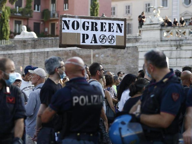 Coronavirus: Italien: 60 Prozent voll geimpft - Proteste gegen Maßnahmen
