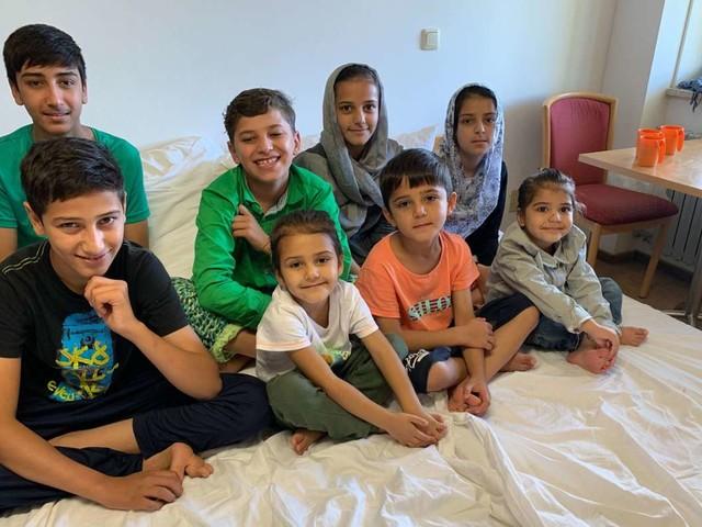 Familie Masoud mit neun Kindern: Die Flucht vor den Taliban endet in Reutlingen