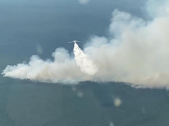 Behörden warnen wegen schweren Waldbränden vor giftigem Rauch