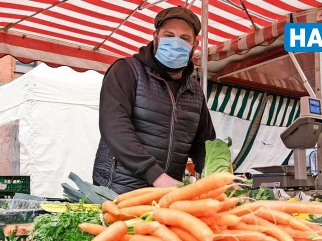 Maskenpflicht auf Wochenmärkten wird aufgehoben