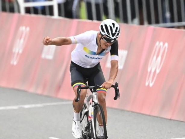 Olympia: Schachmann ohne Happy End - Carapaz gewinnt Straßenrad-Gold