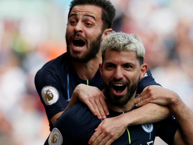 Knapper Sieg: Manchester City bleibt auf Meisterkurs
