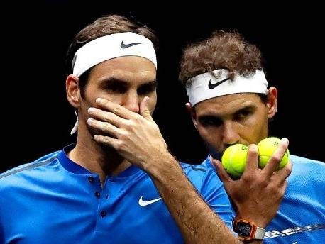 Federer und Nadal: Ein Moment für die Ewigkeit