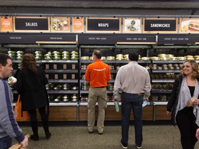 Heute eröffnet Amazons Supermarkt