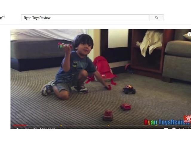 6-jähriger Youtuber verdient 11 Millionen Dollar im Jahr