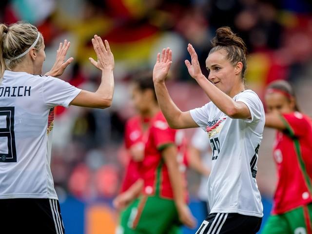 Frauen Fußball: WM-Quali: DFB-Frauen mit Torfestival