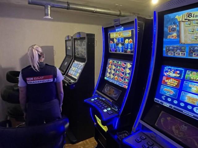 55 Glücksspiel-Automaten bei Aktion scharf beschlagnahmt